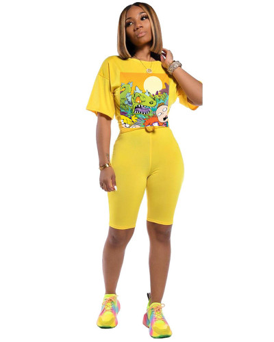Yellow Euro-American women's independent stand Amazon AliExpress is highly recommended