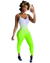 Green Gradient printed camisole