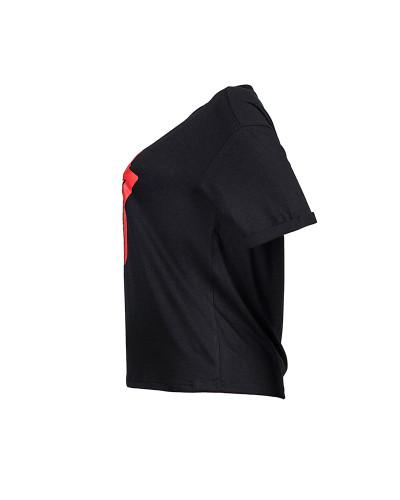 Black Tongue print T-shirt