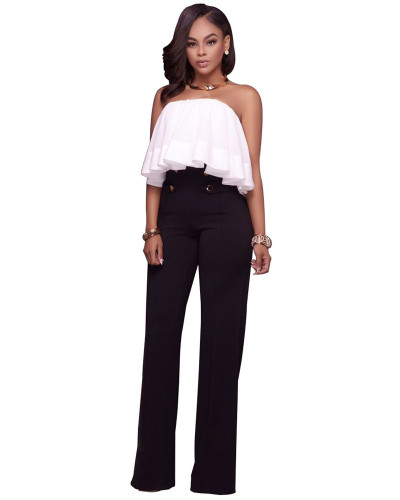 Black Euro-American fashion casual wide-leg pants five colors