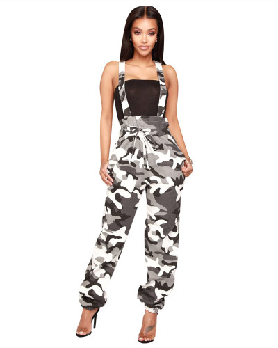 Black Camouflage overalls