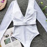 Siamese belt bikini