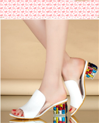 White leisure women Shoes