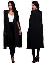 Black Fashion Euro-American Women's Blazer