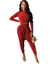 Red Sexy two-piece suit