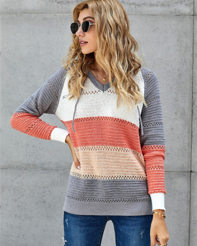 Gray Patchwork long sleeve top