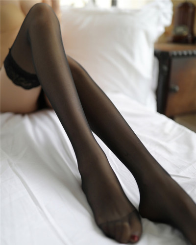 Black Ladies lace stockings lace sexy stockings