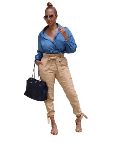 Fashion women's super stretch one-piece pants