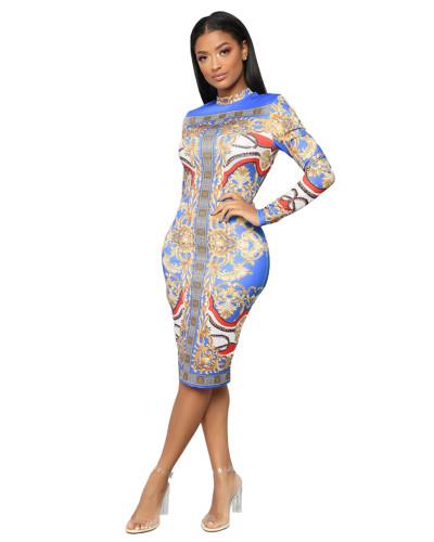 Sexy fashion female slim fit dress