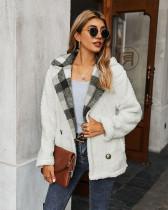 White New sweater fleece top