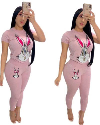 Pink Fashion casual suit