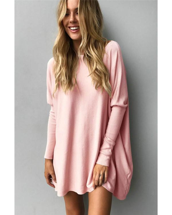 Pink Fluffy tie women's top T-shirt