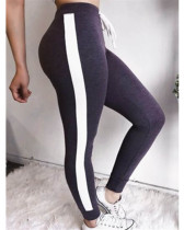Violet Sexy and comfortable feature stitching track pants