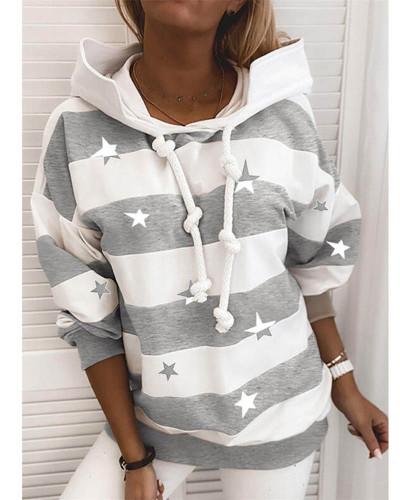 Rough stripes ladies thin sweater ladies tops