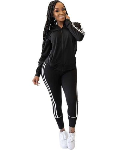 Black Casual women's suits