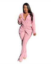 Pink Fashion casual suit two-piece suit