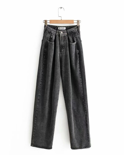 Dark Gray Jeans trousers