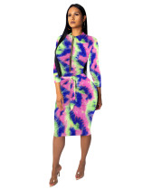 5 Fashionable female slim one-piece dress