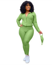 Light Green Fashion Yoga Sports Suit