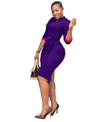 Purple Sexy women's dresses