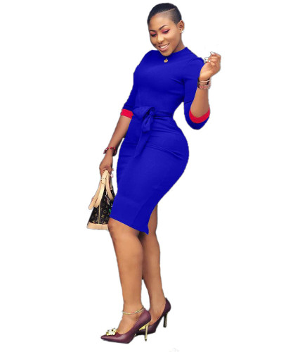 Blue Sexy women's dresses