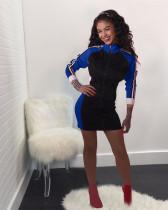 Blue Sports fashion dress