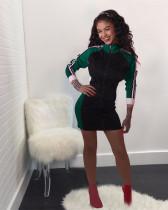 Green Sports fashion dress