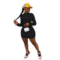 Black Sexy halter nightclub style dress