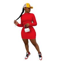 Red Sexy halter nightclub style dress