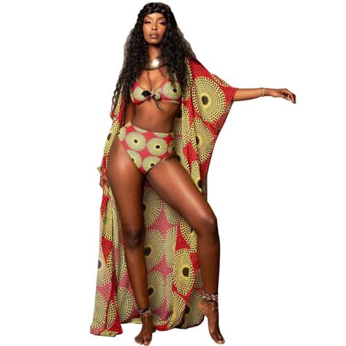 Sexy digital print bikini