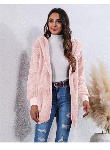 Pink Wear an anti-fur coat on both sides