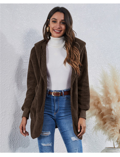 Coffee Wear an anti-fur coat on both sides