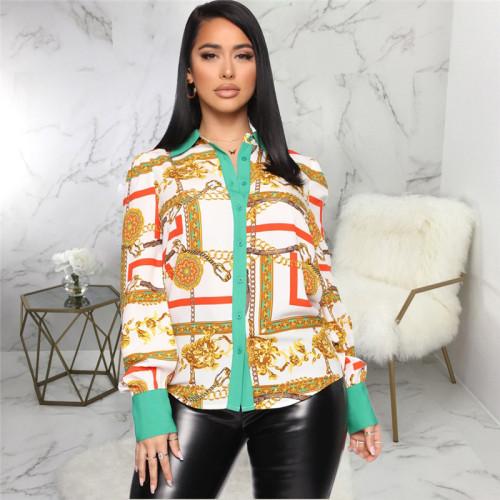 Multicolor printed shirt