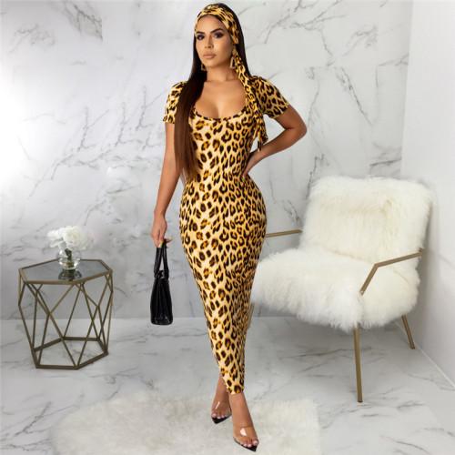 Sexy fashion digital print dress