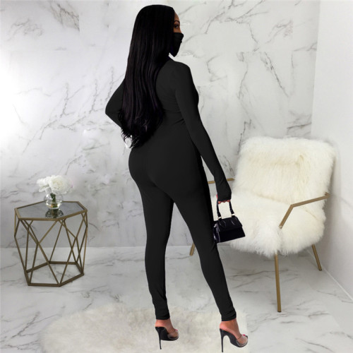 Black Sexy fashion Jumpsuit