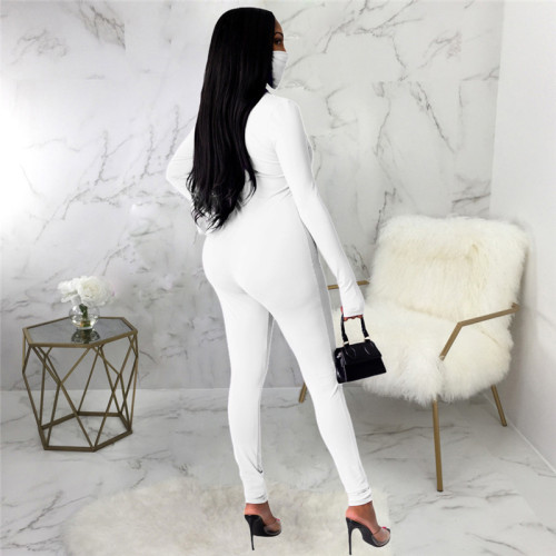 White Sexy fashion Jumpsuit