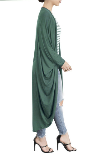 Green Fashionable new sexy hot autumn and winter Cape Batman shirt