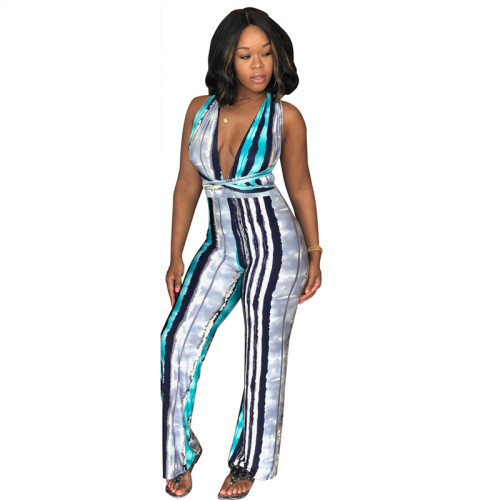 Sexy summer multi strap Jumpsuit