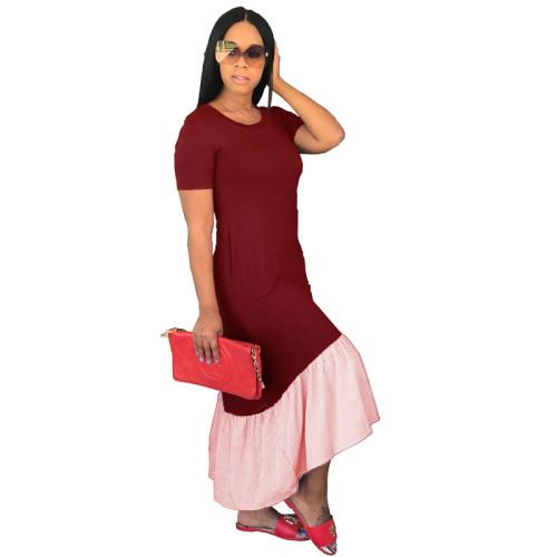 Claret Fashion sexy dress