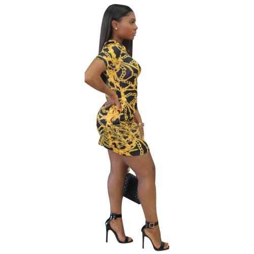 Black Sexy fashion multicolor fashion tight dress