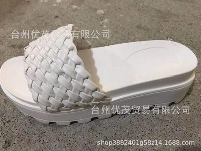 White Platform flat sandals women's shoes