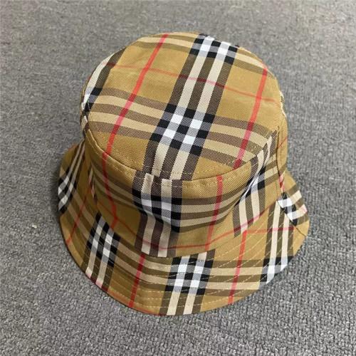 Fashion plaid fisherman hat sun hat