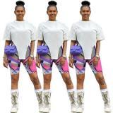 Women's Irregular Short Sleeve Top