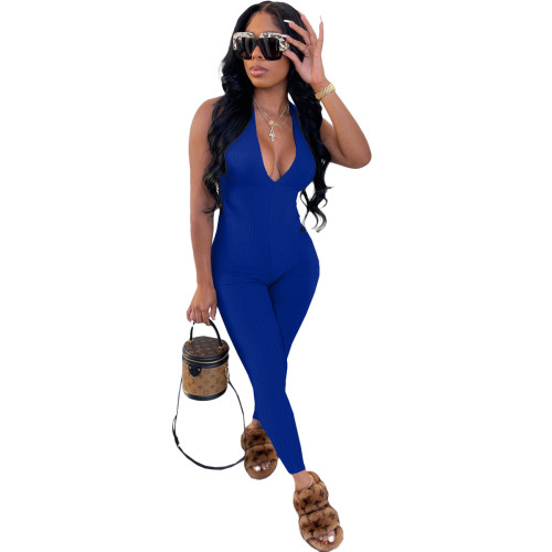 Sapphire  Beautiful women's clothing pit strips wrapped chest strap jumpsuit trousers