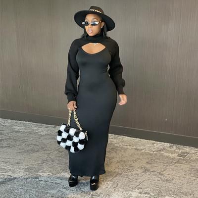 Sling dress fashion temperament long skirt women