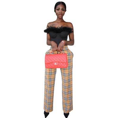 Trendy fashion printed casual pants