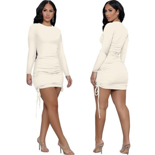 Sexy fashion women's stitching dress