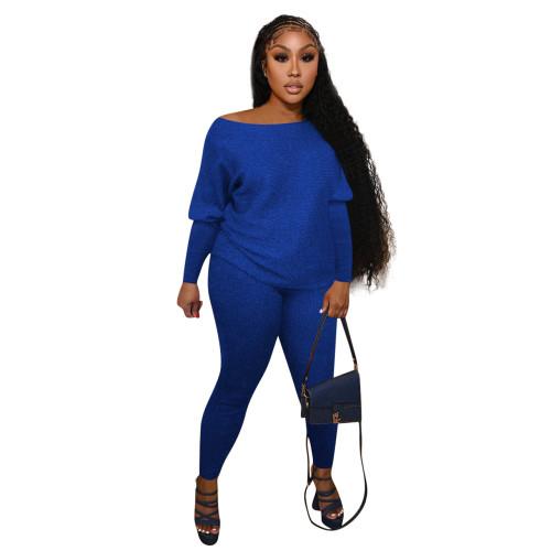 Blue   Home service casual suit