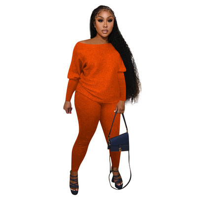 Orange  Home service casual suit