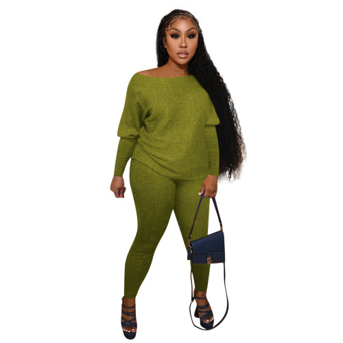 Dark   Green    Home service casual suit